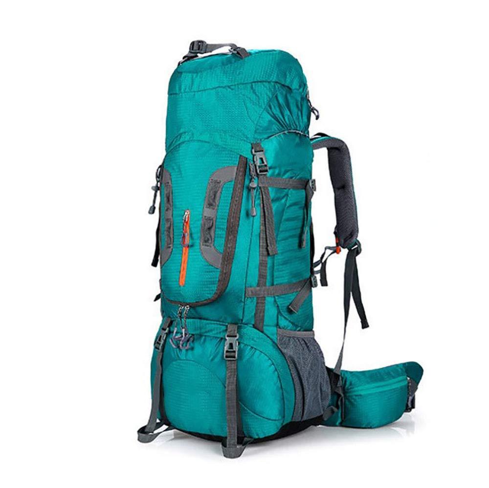 AY-MBJDFX 56L防水ナイロン登山バッグ、 アウトドア旅行 カジュアルスポーツバックパック、 耐磨耗性 (色 : Blue(B)) B07H7JZXSW Blue(B)
