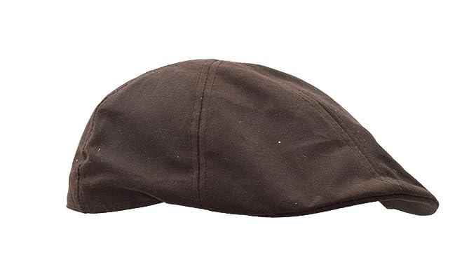 1f99debc9b8be Walker & Hawkes - Unisex Wax Duckbill Cap Country Waxed Hat at ...