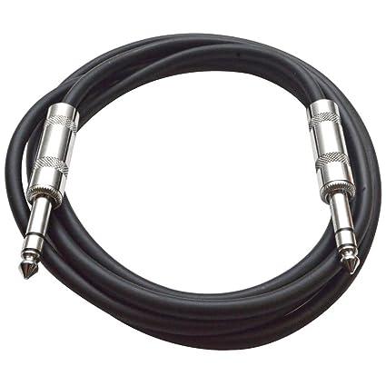 Seismic Audio - SATRX-6 - Black 6' 1/4