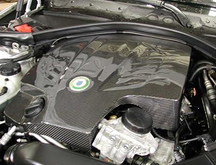 De fibra de carbono cubierta de motor para BMW 3 F3 X Serie con N55 Motor: Amazon.es: Coche y moto
