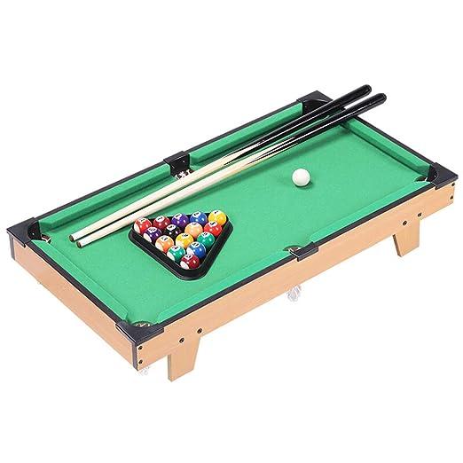 TY-Pool Table MMM@ Mesa de Billar para niños Inicio Mini pequeño Juguete de Billar Mesa