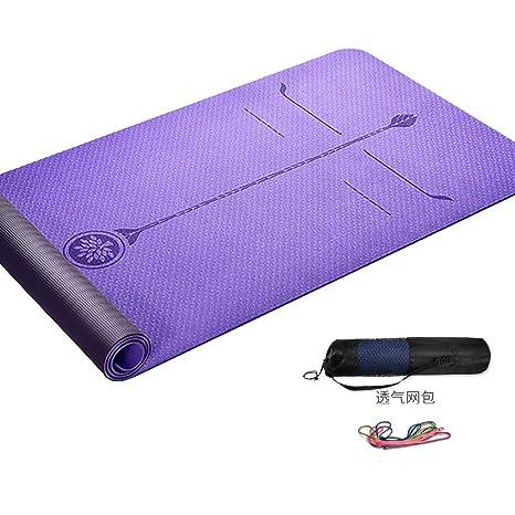 Yoga Colchonetas Fitness y ejercicio Estera de yoga Mujer ...