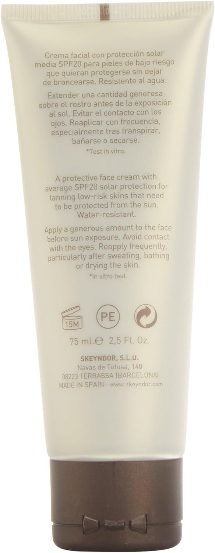 Skeyndor Sun Expertise Tanning Control SPF20 Face Protector Solar ...