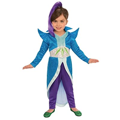 Rubie's Child's Shimmer & Shine Zeta Costume, X-Small: Clothing