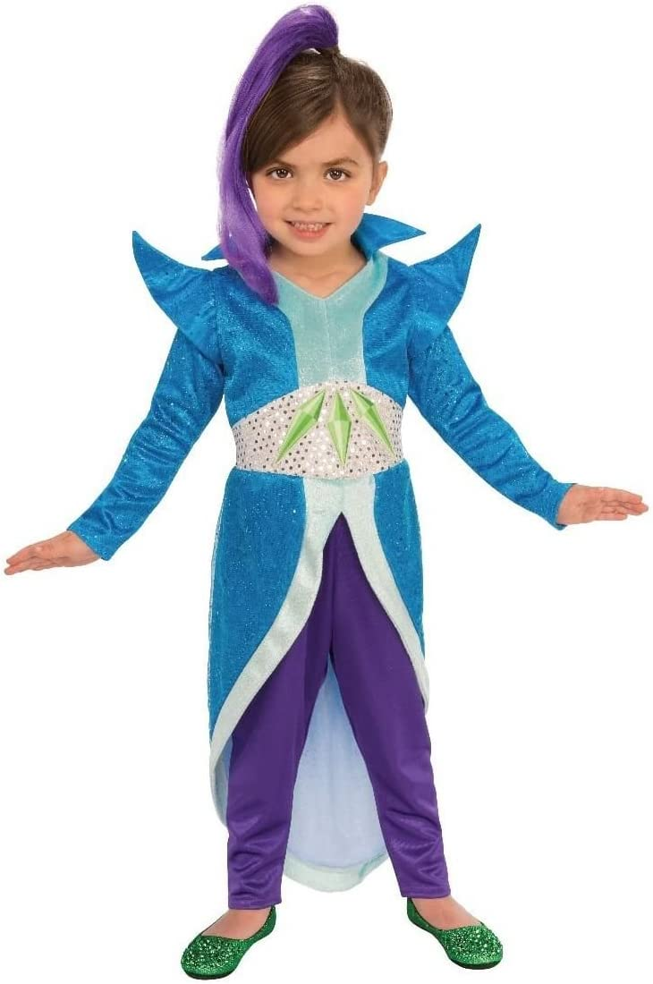 Shimmer and Shine Zeta Fancy Dress Costume X-Small: Amazon.es ...