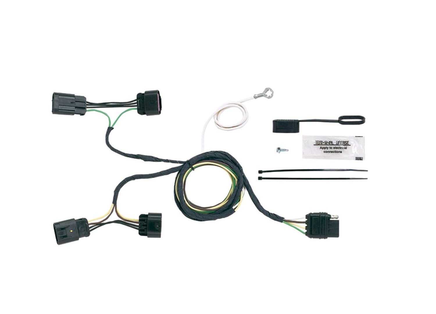 Hopkins 11141275 Plug-In Simple Vehicle to Trailer Wiring Kit Hopkins Towing Solution