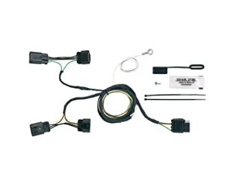 Hopkins 11141275 Plug-In Simple Vehicle to Trailer Wiring Kit  sc 1 st  Amazon.com : hoppy trailer wiring kits - yogabreezes.com