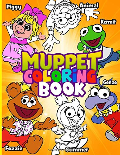 Muppet Coloring Book Muppet Coloring Books For Adult Amazon Co Uk Riley Mateo 9798638599935 Books