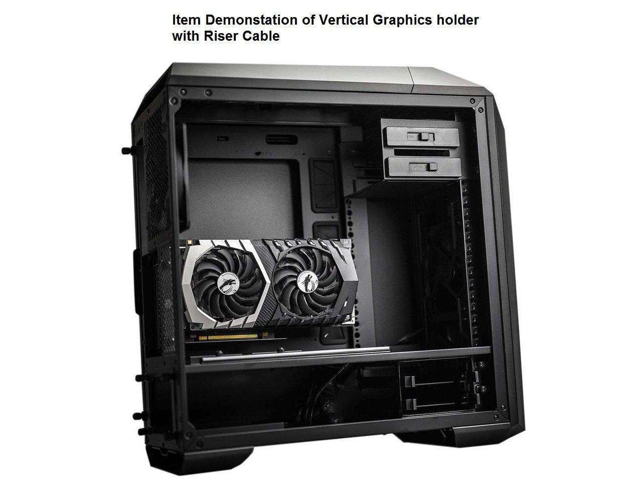 Cooler Master Kit Soporte Vertical Tarjetas GRAFICAS MCA-U000R-KFVK00, 145 MM, 170 MM, 120 MM, 230 G