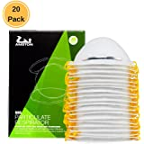 AMSTON 20 pack N95 NIOSH-Certified Dust Masks, Personal Protective Equipment / PPE Particulate Respirators for Construction, Home Improvement, & DIY Projects