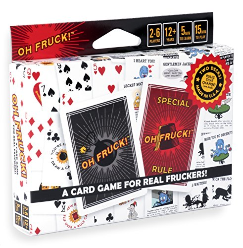 Oh Fruck! - A Raucous Card Game That Combines Strategy with Special Rules That Change Every Time You Play. (Best Strategy Board Games Of All Time)