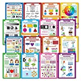 LAMINATED Elements of Design & Principles of Art 16 Poster Set (13 x 19)
