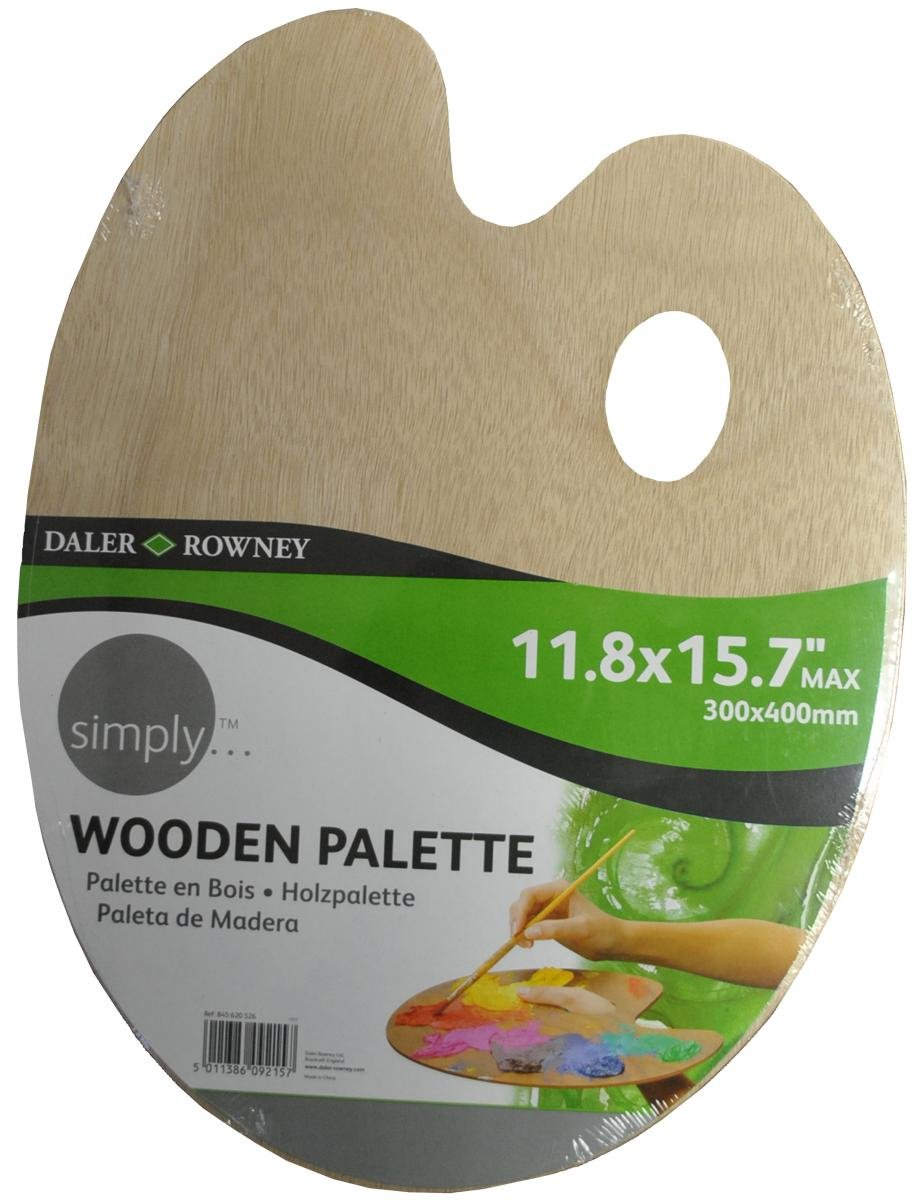 Daler Rowney Simply Wooden Palette