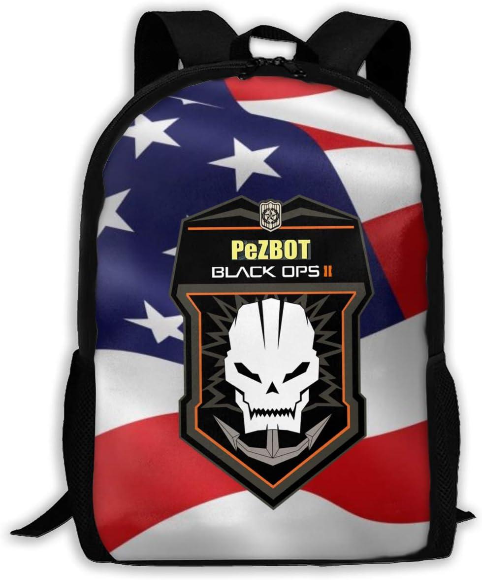 Unisex Kids Schoolbags Call Black Ops Duty Backpack For School Girls Boys Daypacks Rucksack Zipper