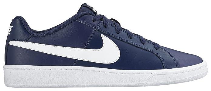 Nike Court Royale Sneakers Herren Mitternachtsblau mit weißen Streifen