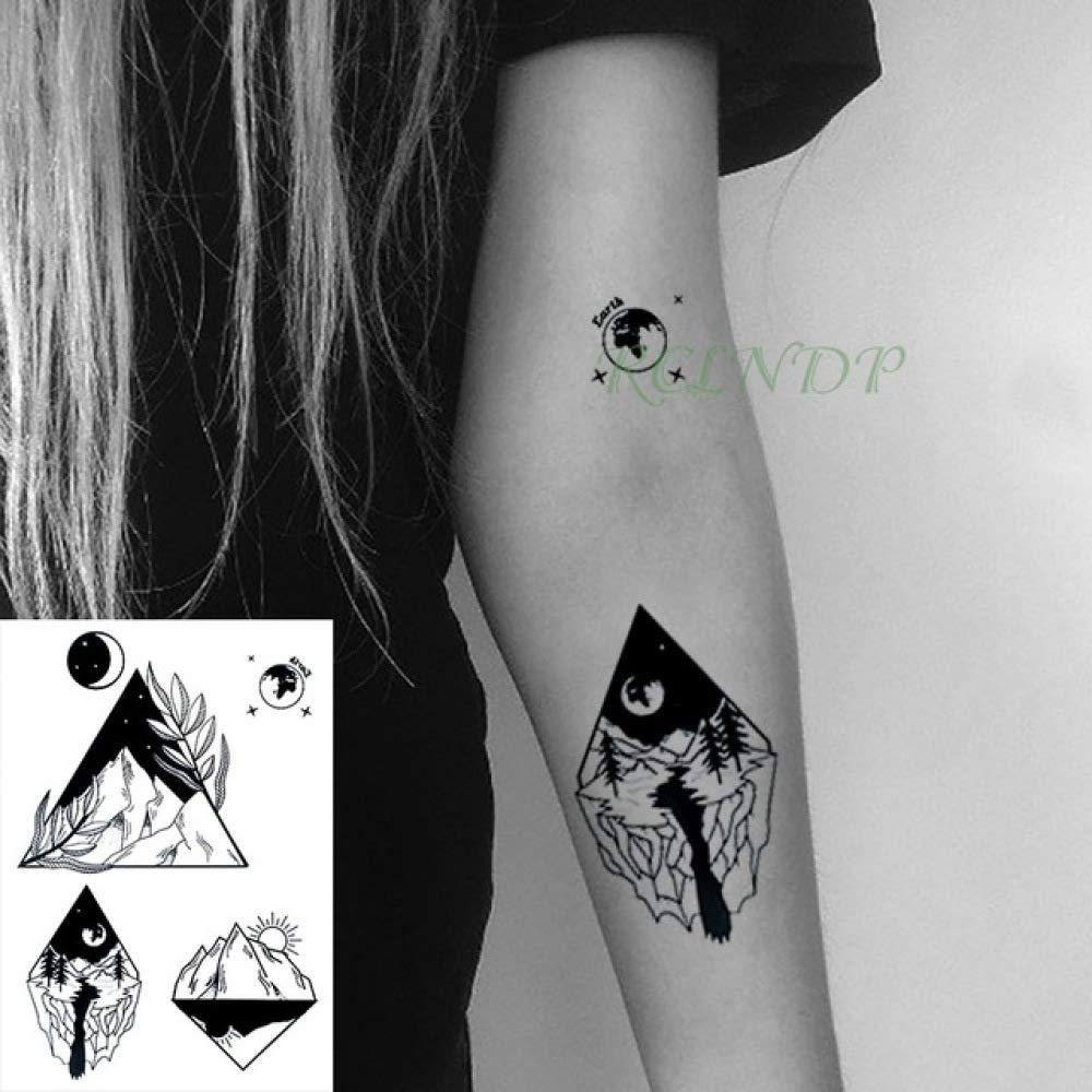 ljmljm 3 Unids Etiqueta Engomada del Tatuaje A Prueba de Agua ...