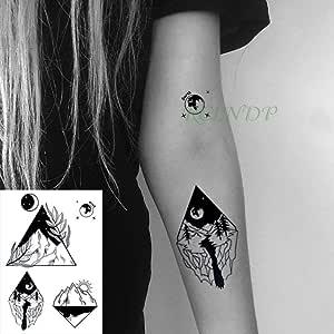 adgkitb 3 Piezas Impermeable Tatuaje Temporal Pegatina escorpión ...