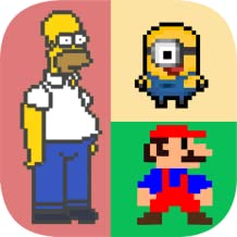 Who am I? Guess the Pixel Character Quiz