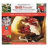 Elizabeth Karmel's 7.25- by 8-inch Organic Grilling Wraps Combo Pack, 4 Pecan and 4 Cherry