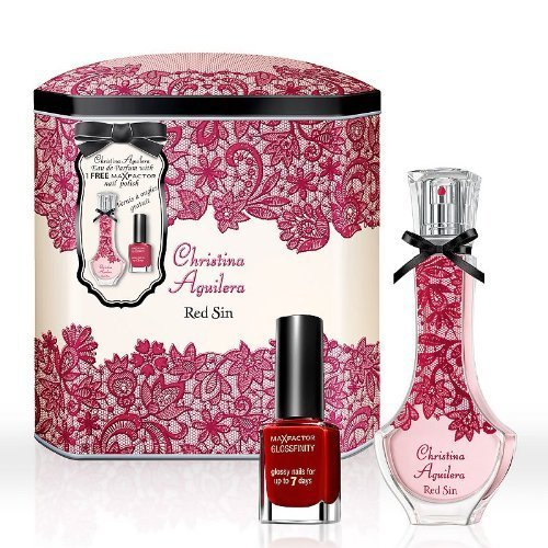 Christina Aguilera Red Sin Fragrance Gift Set - Women's by Christina Aguilera