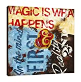 Rodney White SC0673636-RW Strategy for Everyday Sorcery Gallery Wrapped Canvas,,36x36x1.5