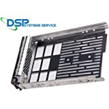 """3.5"""" F238F 0G302D G302D 0F238F 0X968D X968D SAS/SATAu Hard Drive Tray/Caddy for DELL server R610 R710 T610 T710 + screws Compatible Part Number: F238F by HIGHFINE"""
