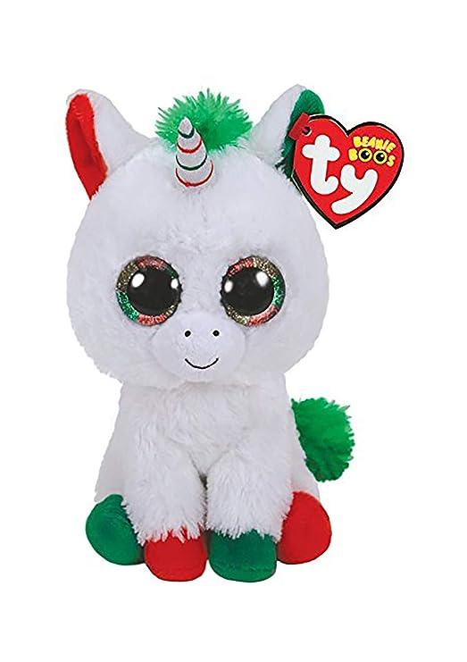 Ty Peluche, ty36222, Blanco Unicornio Pegaso Candy Perro ...