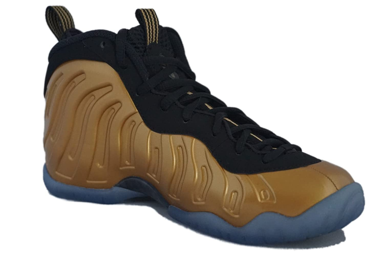 Amazon.com | Nike Little Posite One (GS) Kids Shoes, Metallic Gold |  Basketball