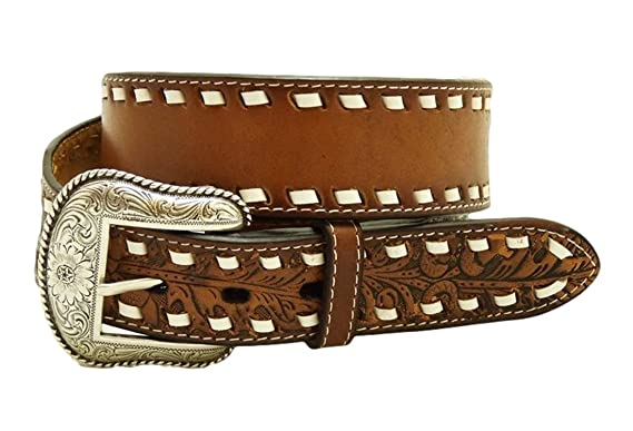 4e1f2bdbf086 Nocona USA - Ceinture style western cowgirl cowboy - femme homme - lacet