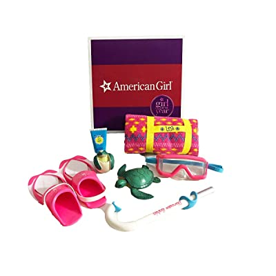 American Girl - Lea Clark - Lea's Beach Accessories for Dolls - American Girl of 2016: Toys & Games
