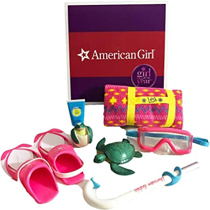 American Girl set 2 of Sea Turtle /& baby egg hatching kit 18/'/' doll accessories