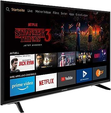 Grundig TV 43 GUB 7065 FireTV Edition 4K UHD Triple Tuner SmartTV EEK: A+: Amazon.es: Electrónica
