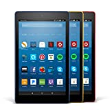 Amazon Price History for:All-New Fire HD 8 Variety Pack, 16GB - Includes Special Offers (Marine Blue/Punch Red/Canary Yellow)