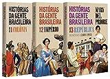 capa de Histórias da Gente Brasileira - Kit exclusivo com 3 Volumes