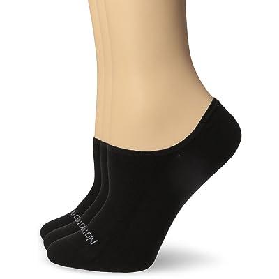 No nonsense Women's Mesh Ultra Low Cut Liner Socks, Black, 4-10 (3-Pack) at Women's Clothing store