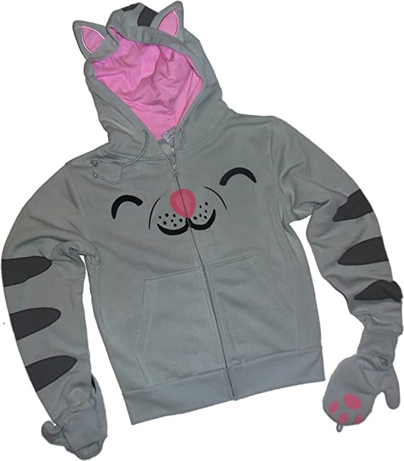 Soft Kitty -- The Big Bang Theory Juniors Zipper-Fleece Hoodie Sudaderas, XXL: Amazon.es: Ropa y accesorios