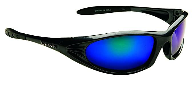 Polarizadas dinámico gafas de sol de espejo azul categoría lentes de 3 UV400