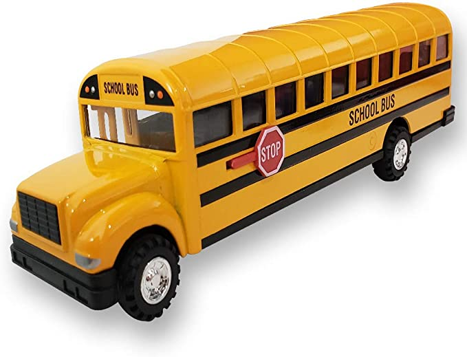 Corp Retro Diecast Metal Toys Transportation Theater Props Toddler Toys Back To School Yellow 1980 School Bus Vintage Buddy L
