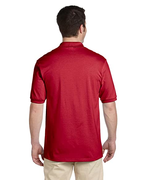 ea02f8df Jerzees Men's 5.6 oz. 50/50 Jersey Polo with SpotShield at Amazon Men's  Clothing store: