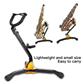 Foldable Saxophone Stand, Adjustable Metal Alto