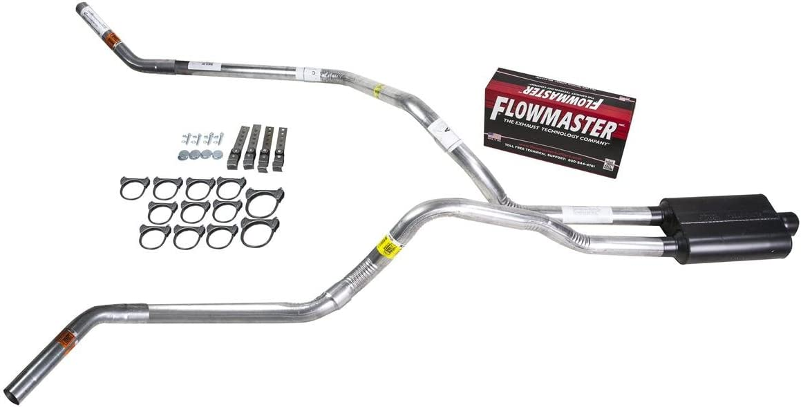 "Chevy GMC 1500 99-06 2.5/"" Dual Exhaust Kits Flowmaster 40 Series Corner Exit"