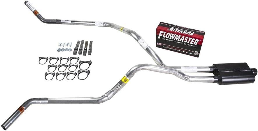 "15-18 Chevy GMC Silverado Sierra 2.5/"" Dual Exhaust Flowmaster Super 10 Clamp Tip"