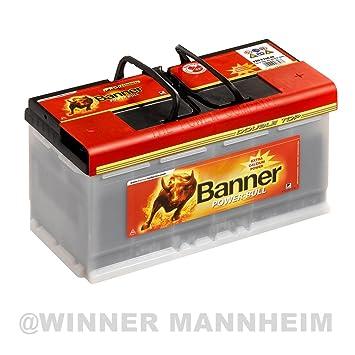 Amazon Fr Banner Power Bull Professional Batterie P10040 100ah