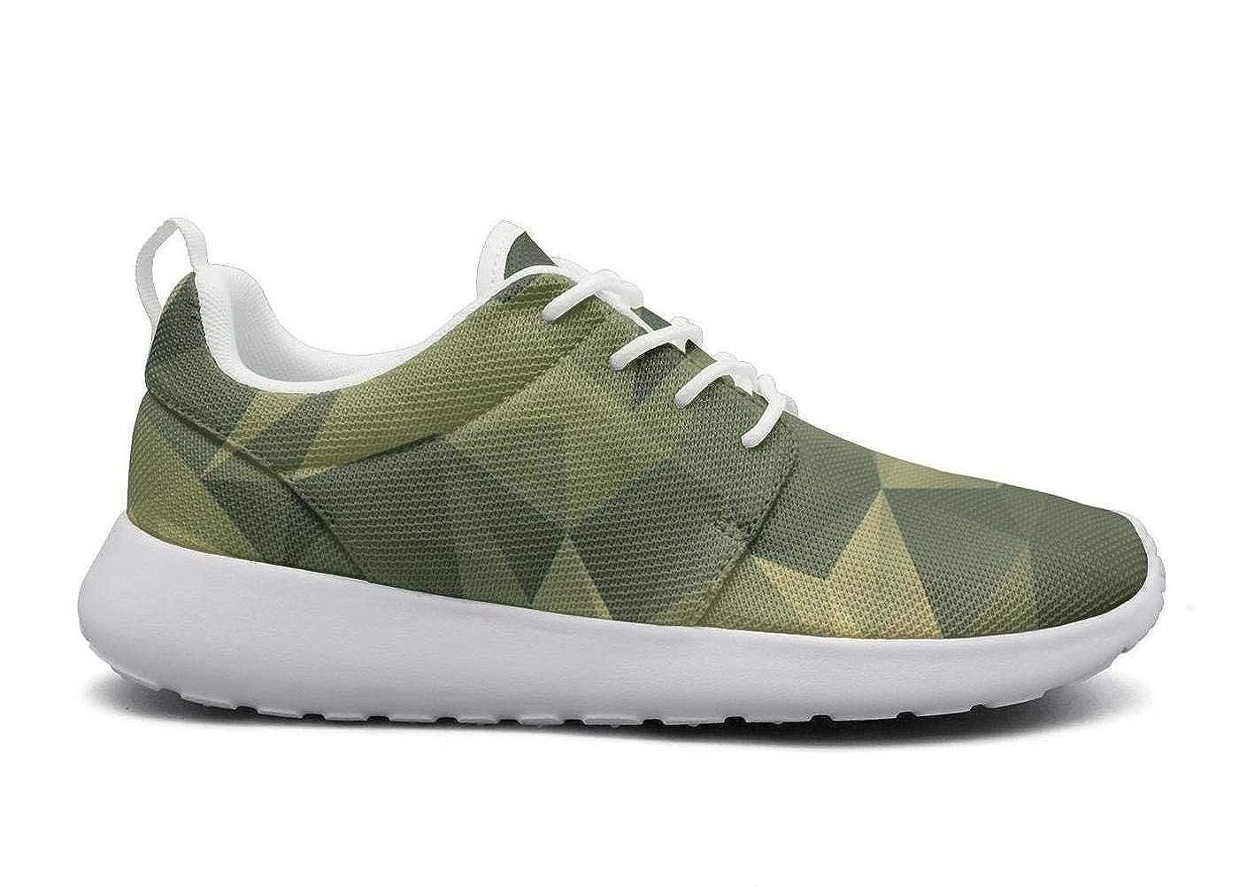 Usa map desert digital camo Walking Shoes for Women Lo-Top Lightweight Running Shoes