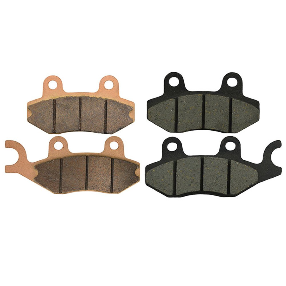 AHL Motorcycle 3 Pairs Brake Pads Front + Rear for Yamaha Raptor 700 Yfm700 R Special Edition 2007 2015