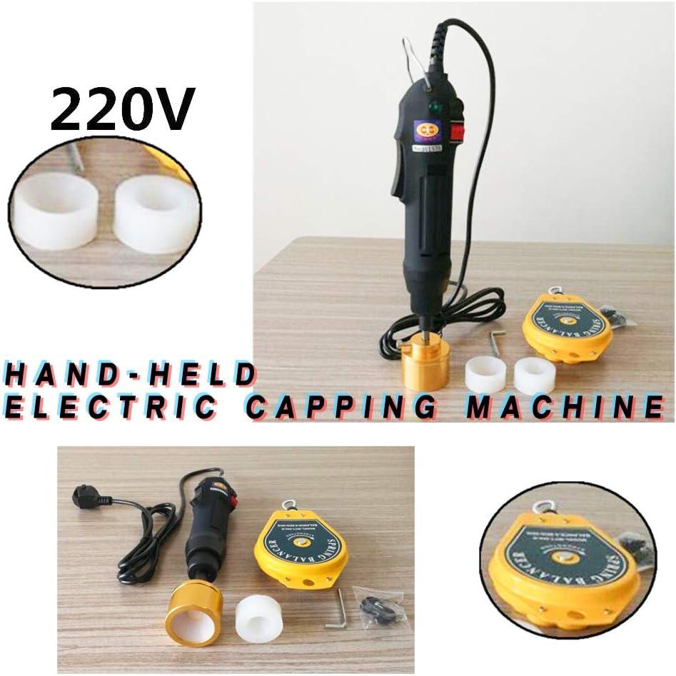 110V!Electric HandHeld Screw Capper Bottle sealing Machine for screw cap USA
