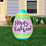 5.5 Tall Happy Easter EGG Airblown Inflatable by Gemmy