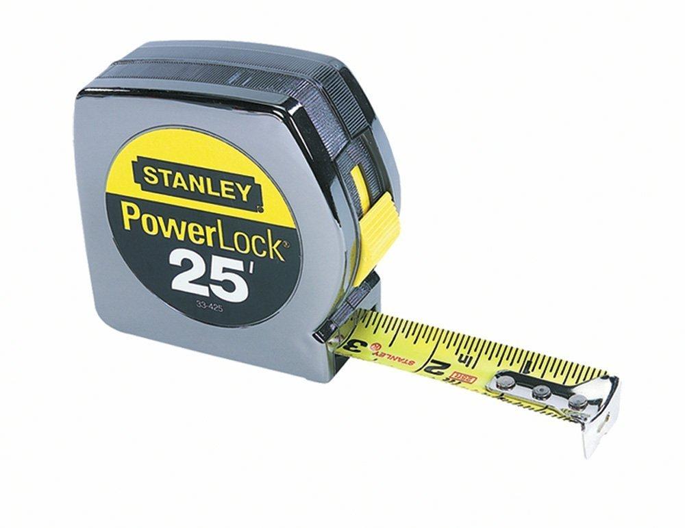 Stanley 33-425 Powerlock 25-Foot by 1-Inch Measuring Tape - Original