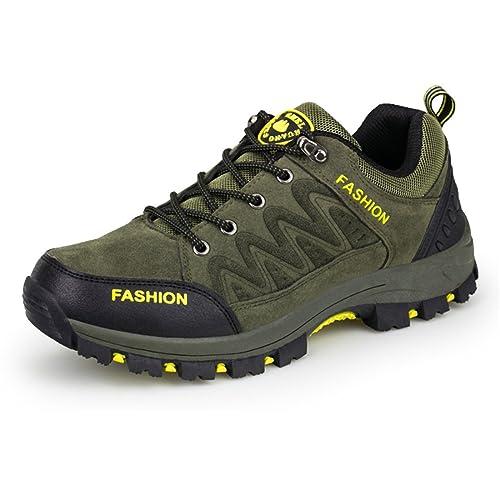 ailisahbroy Zapatillas de Senderismo de montaña para Hombre Zapatos de Senderismo: Amazon.es: Zapatos y complementos