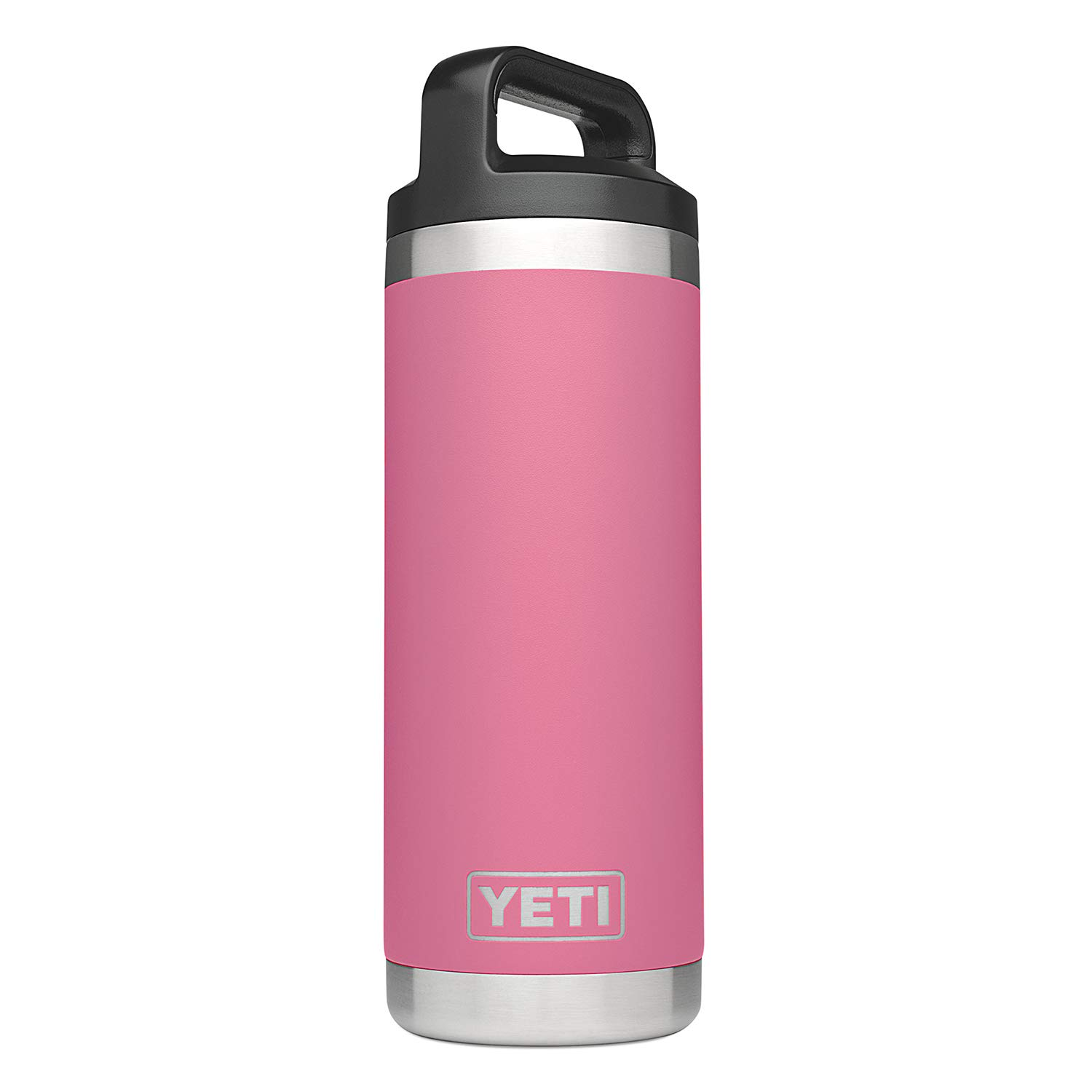 YETI Rambler 18 oz Vacuum Insulated Stainless Steel Bottle with Cap, Harbor Pink